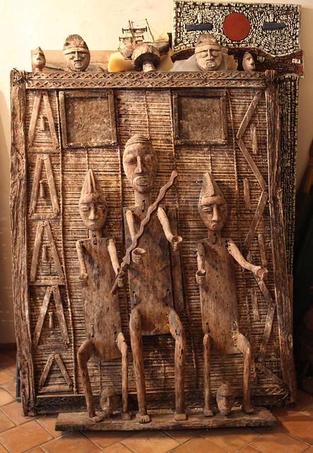 La collection d'objets africains (arts premiers) accumulée par un connaisseur du continent