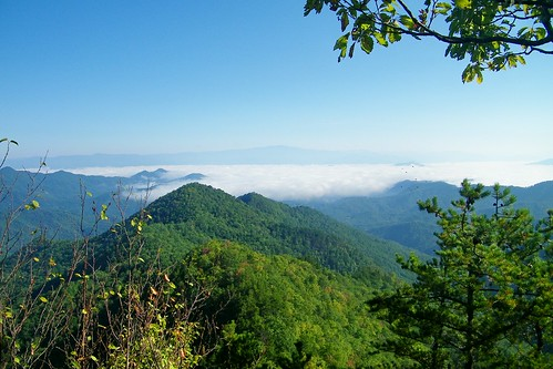 bald appalachian shelter overlook nantahala wesser