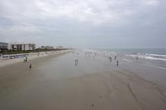 View from Cocoa Beach Pier