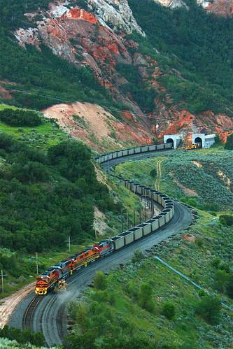 train utah railway coal 5005 spanishforkcanyon utahrailway mk503 cusipj