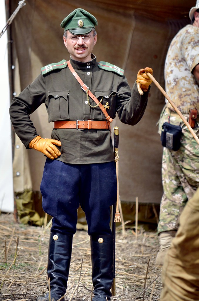 Blosdorf 2011 - Russian commander   Annual WWI reenactment t…   Flickr