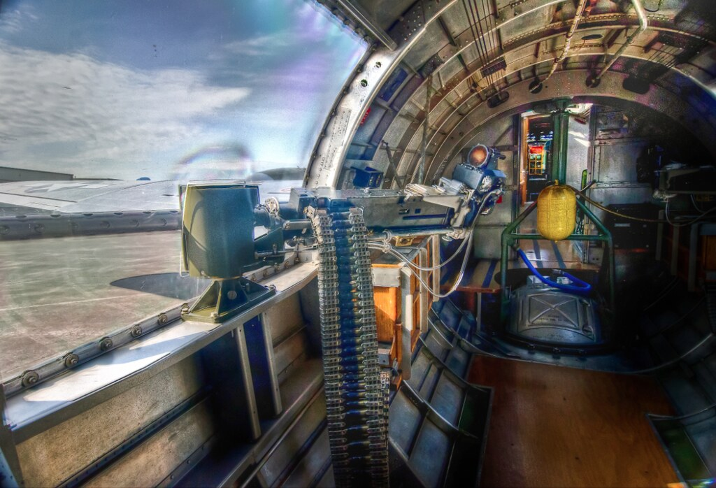"B-17 Sentimental Journey"" Rear Guns"