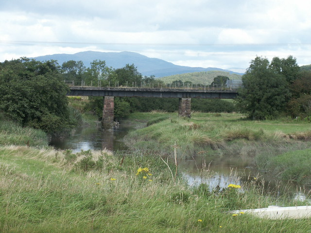 2002-08-25 041 Old Railway Bridge over Palnure Burn near Newton Stewart
