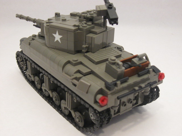 lego tank instructions easy