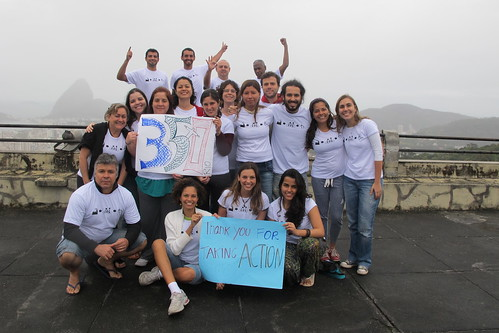 Tar Sands Action Solidarity from Rio, Brazil