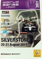 World Series by Renault, Silverstone 2011.
