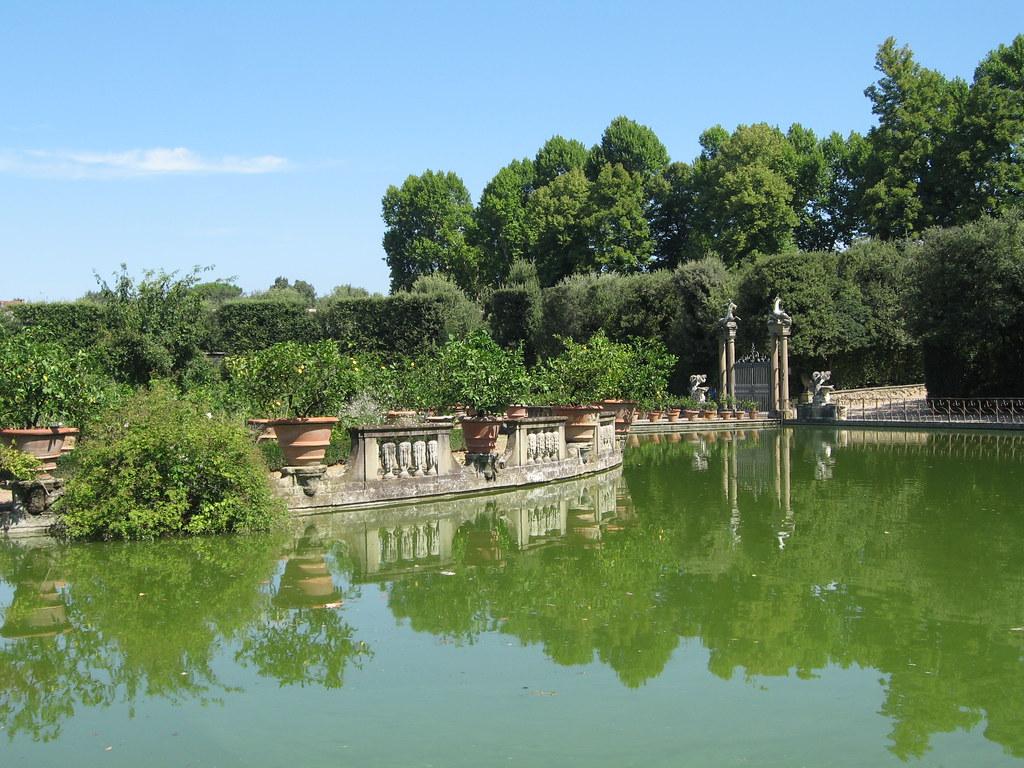 Jardin De Boboli Florence Italie Cha Flickr