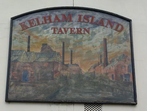Kelham Island Tavern (sign), Sheffield