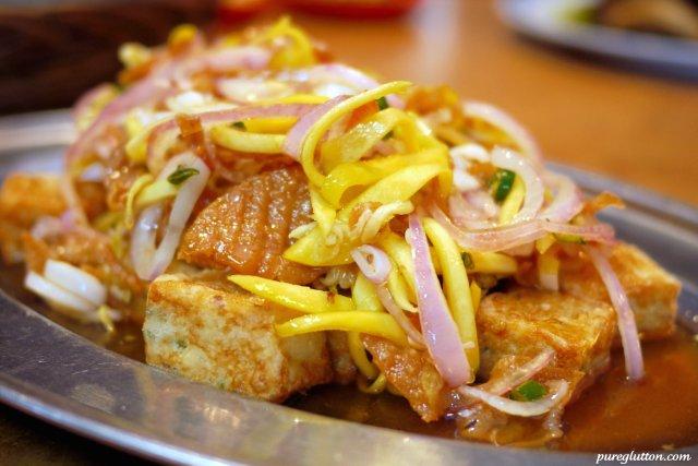 mango tofu
