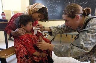 Iraqi village medical visit