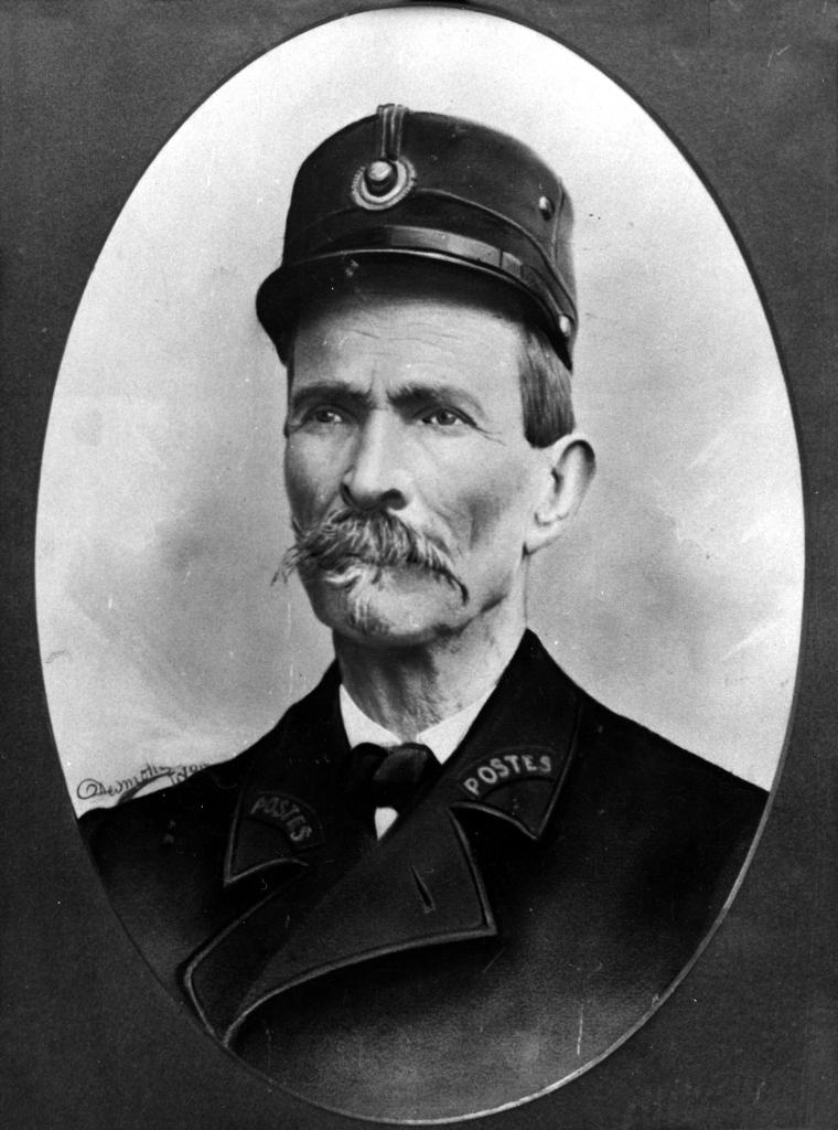 Ferdinand Cheval retrato