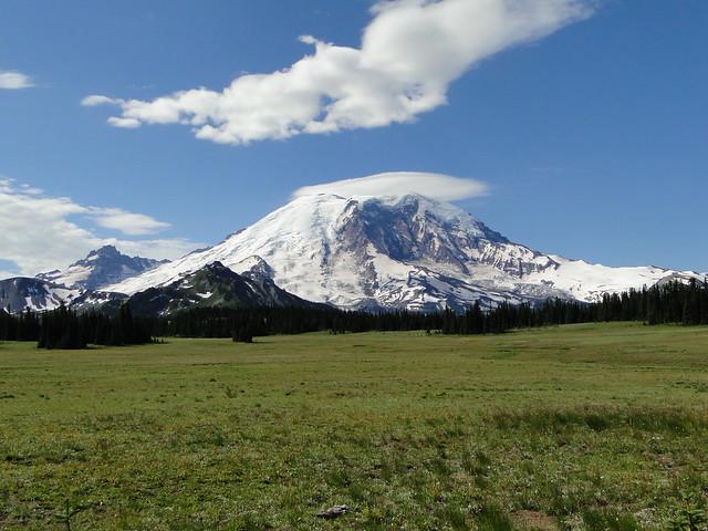 Mt. Rainier from Grand Park.