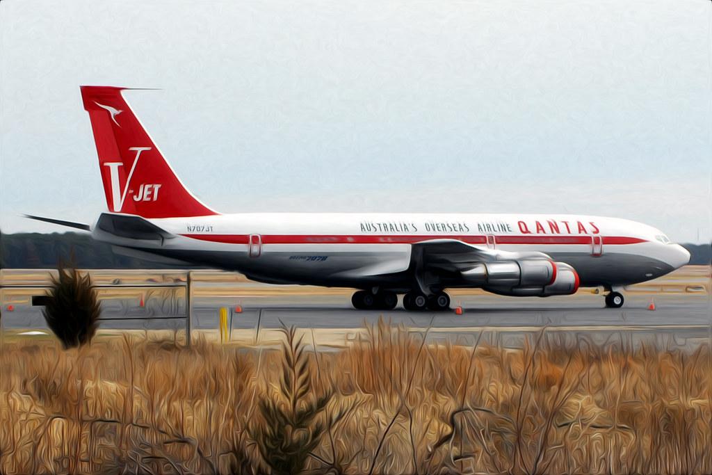 Qantas V-Jet