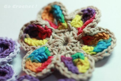 Cheerful Crochet Flower