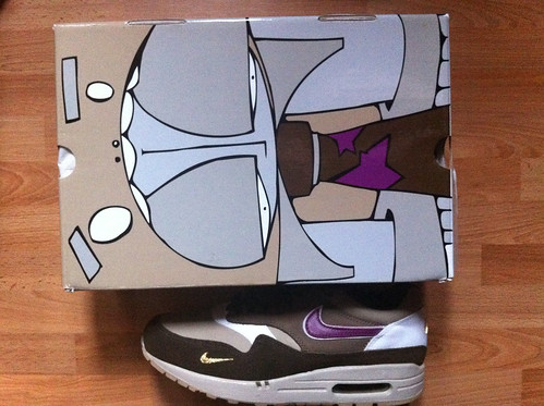 Nike air max 1 atmos Viotech Hyperstrike box
