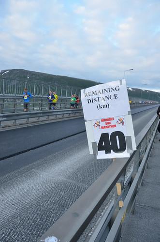 40 km left to run