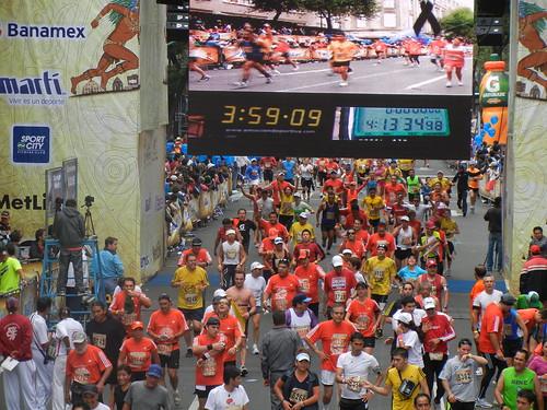 Maraton de la Ciudad de Mexico 2011 392