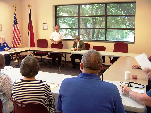 Meeting with Rutherfordton Town Leaders - 8/16/11 | Flickr - Photorutherfordton town