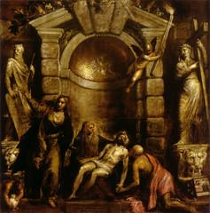 Pieta, by Titian
