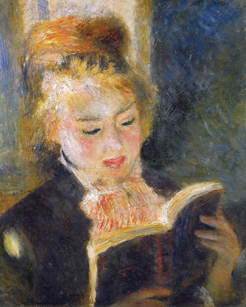 La liseuse comme lue the readed reader rachel proffitt for Auguste renoir paris