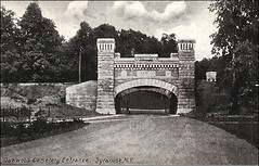 Oakwood Cemetery Entrance - 1909 - Syracuse NY