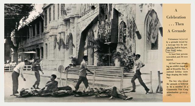 QUÂN DÂN ĐOÀN KẾT - MỪNG TẾT CỘNG HÒA - 26/10/1962