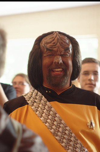 Worf cosplayer