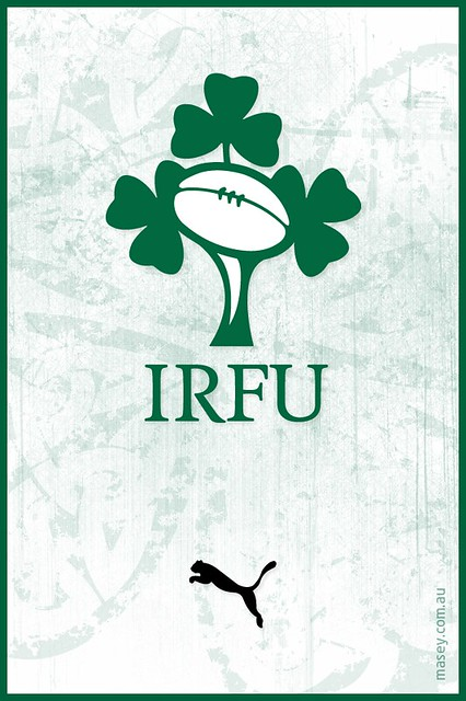Irish Rugby iPhone Wallpaper