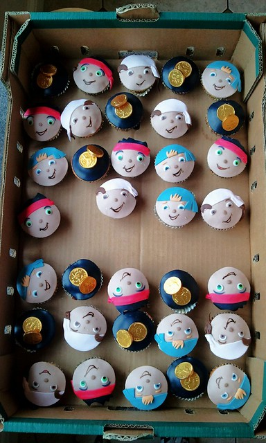jake and the neverland pirates cupcakes - photo #25