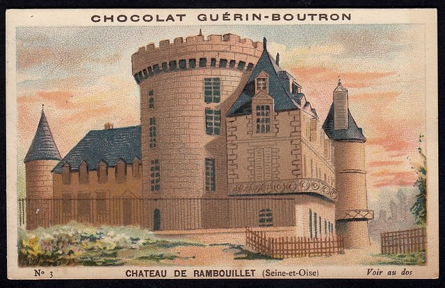 French Tradecard - Chateau de Rambouillet