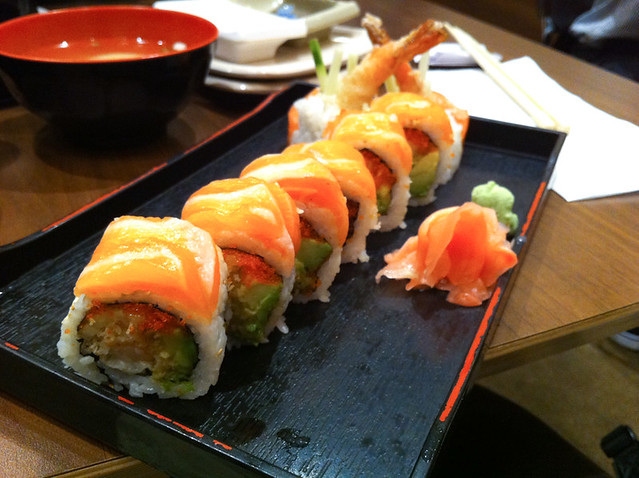 red dragon roll, new generation sushi (bloor st w + brunsw… | Flickr ...