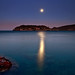 Spinalonga full moon