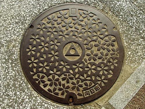 Mukō, Kyoto manhole cover(京都府向日市のマンホール)