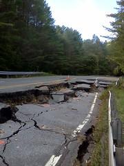 Route 2, Irene Flooding Damage, September 2011