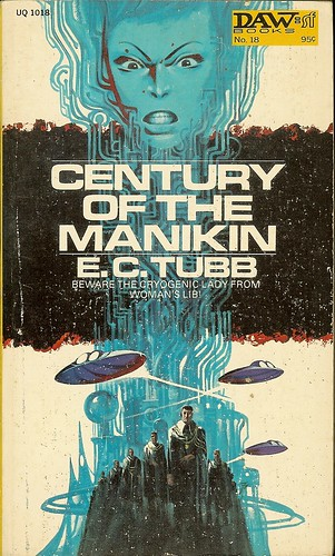 Century of the Manikin - E.C. Tubb - cover artist Jack Gaughan