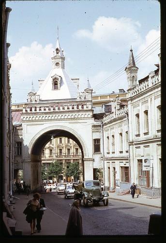 Tretayakovsky Drive, Moscow, 1969