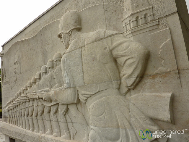 Soviet War Memorial at Treptower Park  - Berlin