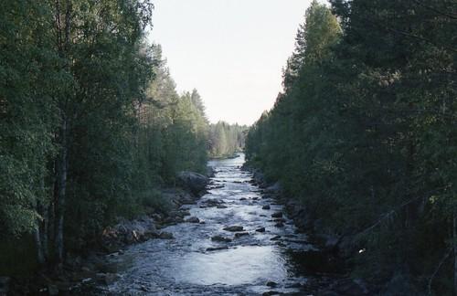 lake analog finland river lago stream fiume ruscello yashica finlandia carelia