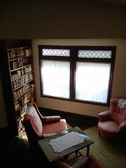 Library corner, Yaddo
