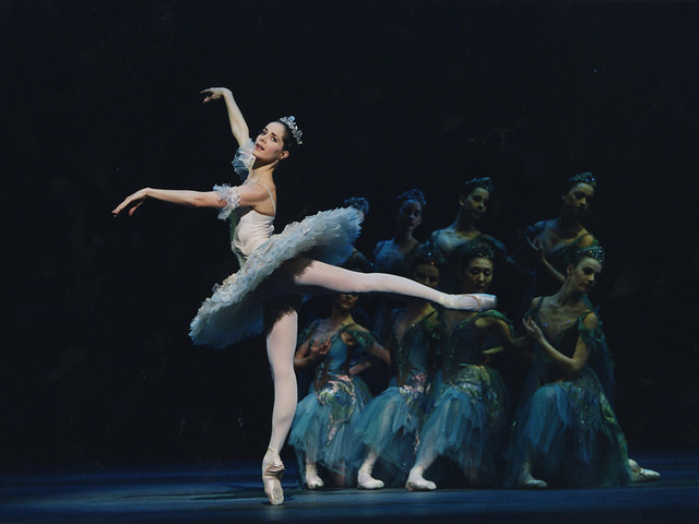 Darcey Bussell as Princess Aurora in The Sleeping Beauty  © Bill Cooper/ROH 2011