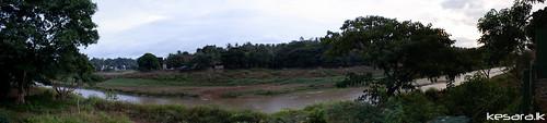 panorama panoramic sri lanka ganga mahaweli