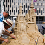 Summer Streets 2011: Sand Sculpting at Foley Square