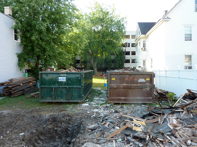 Two dumpsters...one good, one junk