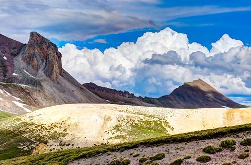 usa nature clouds landscape outdoors hiking backpacking co sanjuanmountains cloudsstormssunsetssunrises uncompahgrewildernessarea