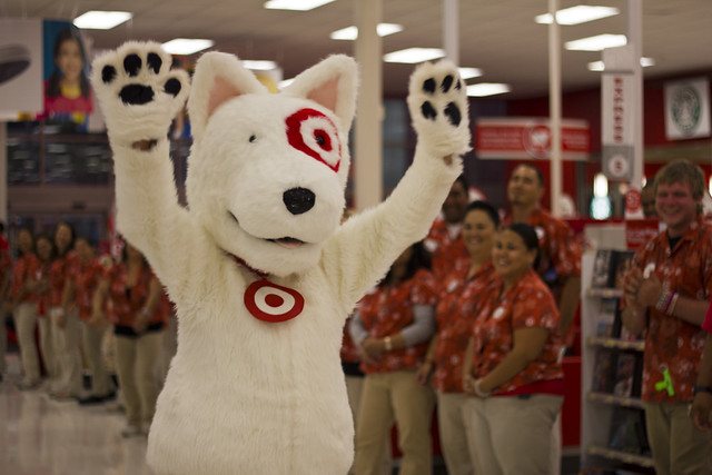Target dog at university shopping event flickr photo What kind of dog is the target mascot