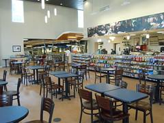 Coffee shop and study area
