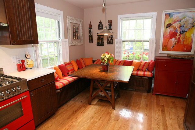 Kitchen banquette seating kitchen booth seating washington dc flickr photo sharing - Booth seating kitchen ...