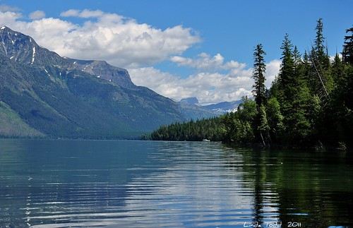 Lake McDonald, Glacier Park..