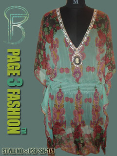 Kobe Bryant / Beaded ladies beachwear kaftans / viscose chiffon long kaftans