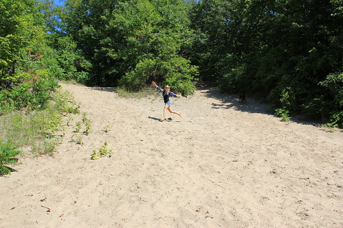 Glacial Sand Dune at Methodist Point, Awenda by Aidan M.D. Ware